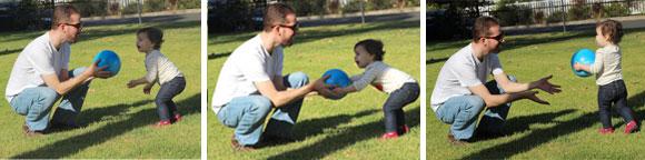 Teach a kid to fetch...