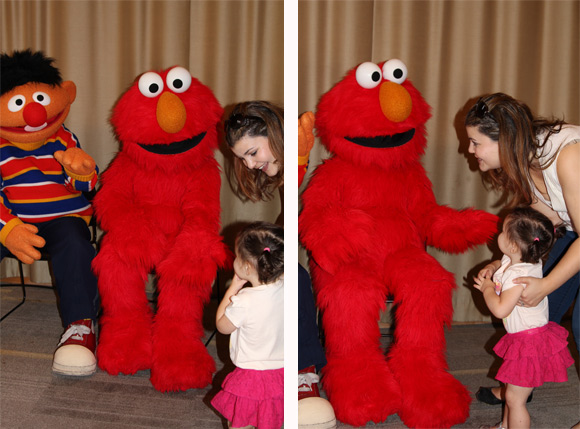 Born friedman live and in the fur she had her fingers in her mouth which she never does and i decided it was due to nerves and overstimulation so basically sesame street live m4hsunfo