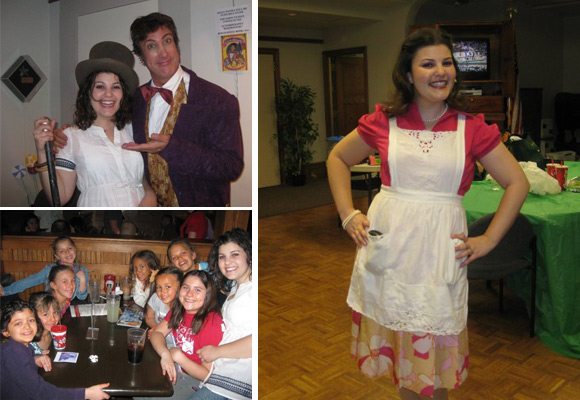 """Chocolatey sweet time working with the """"Willy Wonka"""" cast."""
