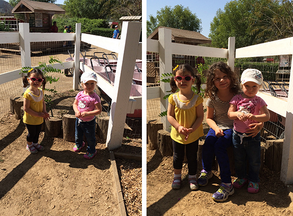 Madelyn and her girlfriends! Dani is the perfect older age that makes her idol material for 2.5-year-old girls.