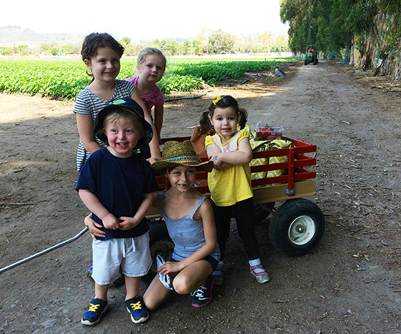 All the little farmers! Cutest kiddos!
