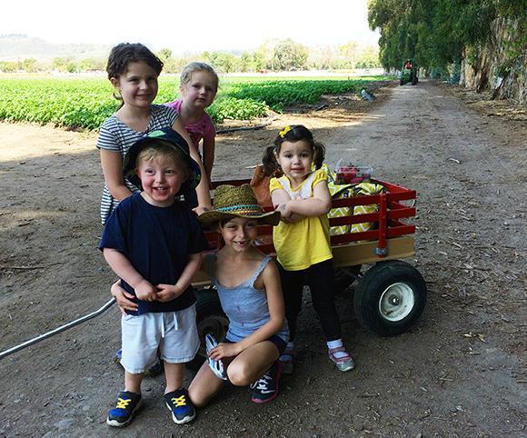 All the little farmers! Cutest kiddos!