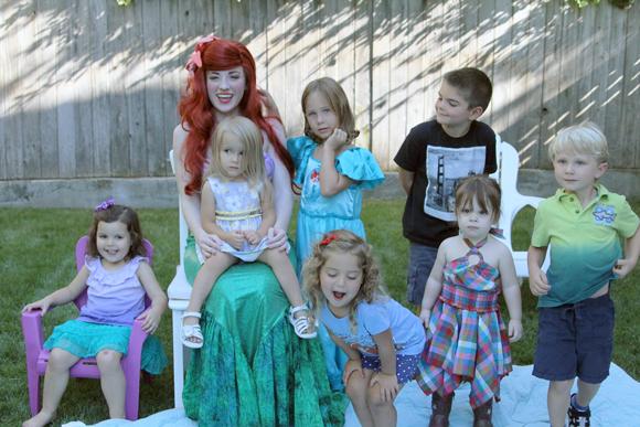 Ariel puts Santa Claus to shame.