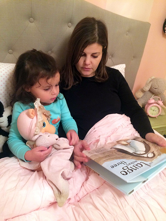 "Reading Tango Makes Three from Madelyn's new ""nest"" -- we love this book!"