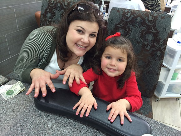Mother-Daughter manicures forever! Mother-Daughter tattoos NEVER!