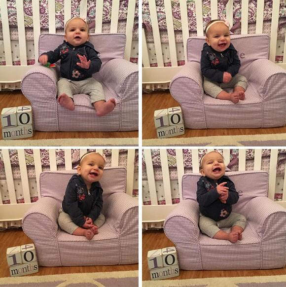 Arielle, 10 months