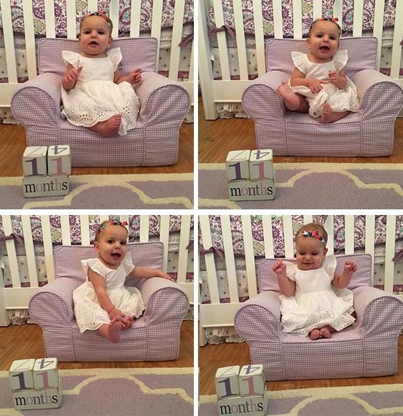 Arielle 11 months