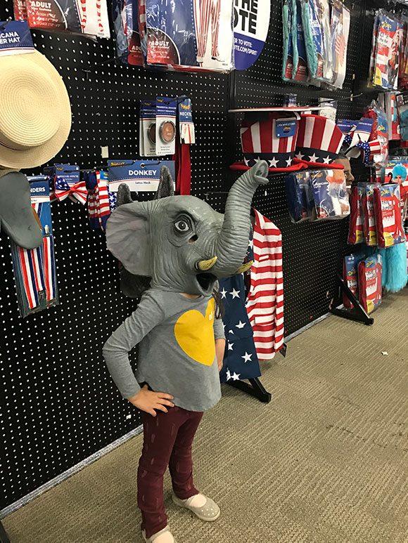 Madelyn for President!  Make America Silly Again!